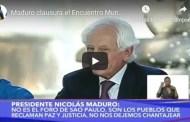 Maduro clausura el Encuentro Mundial Antiimperialista en el Parque Los Caobos, 24 enero 2020 (+Video)