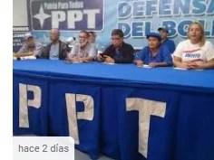 Rafael Uzcátegui PPT: Queremos saber por qué el Gobierno no actúa ante las acciones de Juan Guaidó?