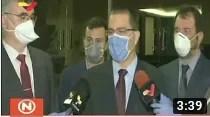Rusia hace donación de kits de pruebas y medicamentos a Venezuela: Las recibe Jorge Arreaza