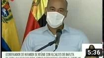 Gobernador de Miranda afina estrategias contra el Covid-19 con distintos alcaldes de la entidad (+Video)