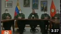 Viceministro de Educación para la Defensa manifiesta su lealtad al Comandante en Jefe