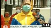 Movimiento Somos Venezuela condena nuevas agresiones imperiales (+Video)
