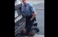 Policia blanco asesina por afixia a un afroestadounidense en Minneapolis.