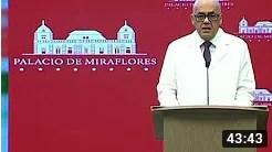 Jorge Rodríguez: Ojalá quiénes siempre agreden a Venezuela atiendan la pandemia sin politiquería (+Video)