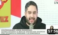 Jorge Rodríguez entrevistado por Nicolás Maduro Guerra, 23 junio 2020 (+Video)