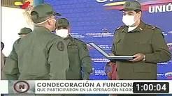 Maduro condecora a militares que repelieron a la Operación Gedeón que pretendía derrocarlo (+Video)