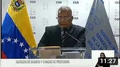 CGR inhabilita por 15 años a exalcaldes Jhonnatan Marín y Ramón Muchacho por hechos de corrupción (+Video)