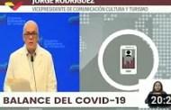 Reporte Coronavirus Venezuela, 12/07/2020: Jorge Rodríguez informa 287 casos y 4 fallecidos (+Video)