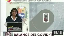Reporte Coronavirus Venezuela, 28/07/2020: 583 nuevos casos y 5 fallecidos, informa Delcy Rodríguez (+Video)