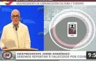 Reporte Coronavirus Venezuela, 01/08/2020: 869 casos y 5 fallecidos reportó Jorge Rodríguez (+Video)