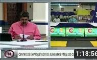 Maduro en videconferencia para fortalecimiento de CLAPs y Misión AgroVenezuela, 27 agosto 2020 (+Video)