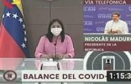 Presidente Maduro y Delcy Rodríguez en reunión de la Comisión contra el Covid-19, 27/09/2020