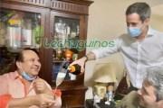 Mientras miles de venezolanos mueren porque este par de hijos de puta del Guaidó y el Roland, se roban la plata de CITGO, véanlos aquí celebrando sus trácalas con champán...