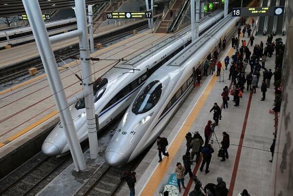 China posee la red ferroviaria más extensa y más veloz del mundo