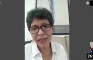Maribel Díaz, candidata del PCV, da propuestas para recuperar el sueldo digno de los trabajadores