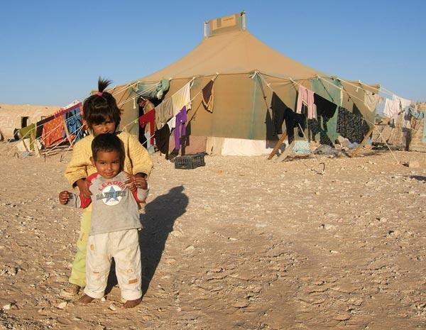 Tragedia de los hemanos Saharauis