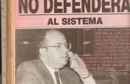 GRÁFICAS exclusivas de la hemeroteca de ENSARTAOS… Aquí vean al cerdo Gustavo Tarre Briceño, cuando en la década de los ochenta pronosticaba que el PUEBLO no iba a defender el sistema de MIERDA del Puntofijismo...