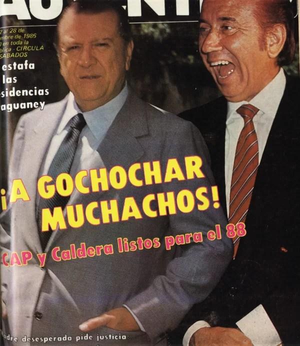 HEMEROTECA: la dictadura de este par de sinvergüenzas duró 16 años (dos períodos cada uno), pero éramos tan felices por lo jodidos que estábamos…