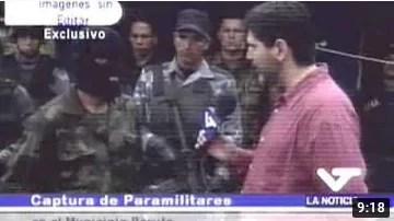 Fijense esto, hace 17 años de un día como hoy, que también fue domingo y Día de las Madres, el Gobierno Bolivariano de Hugo Chávez capturó 150 paracos que nos metió Uribe para ensangrentar las calles de Caracas (+Video)