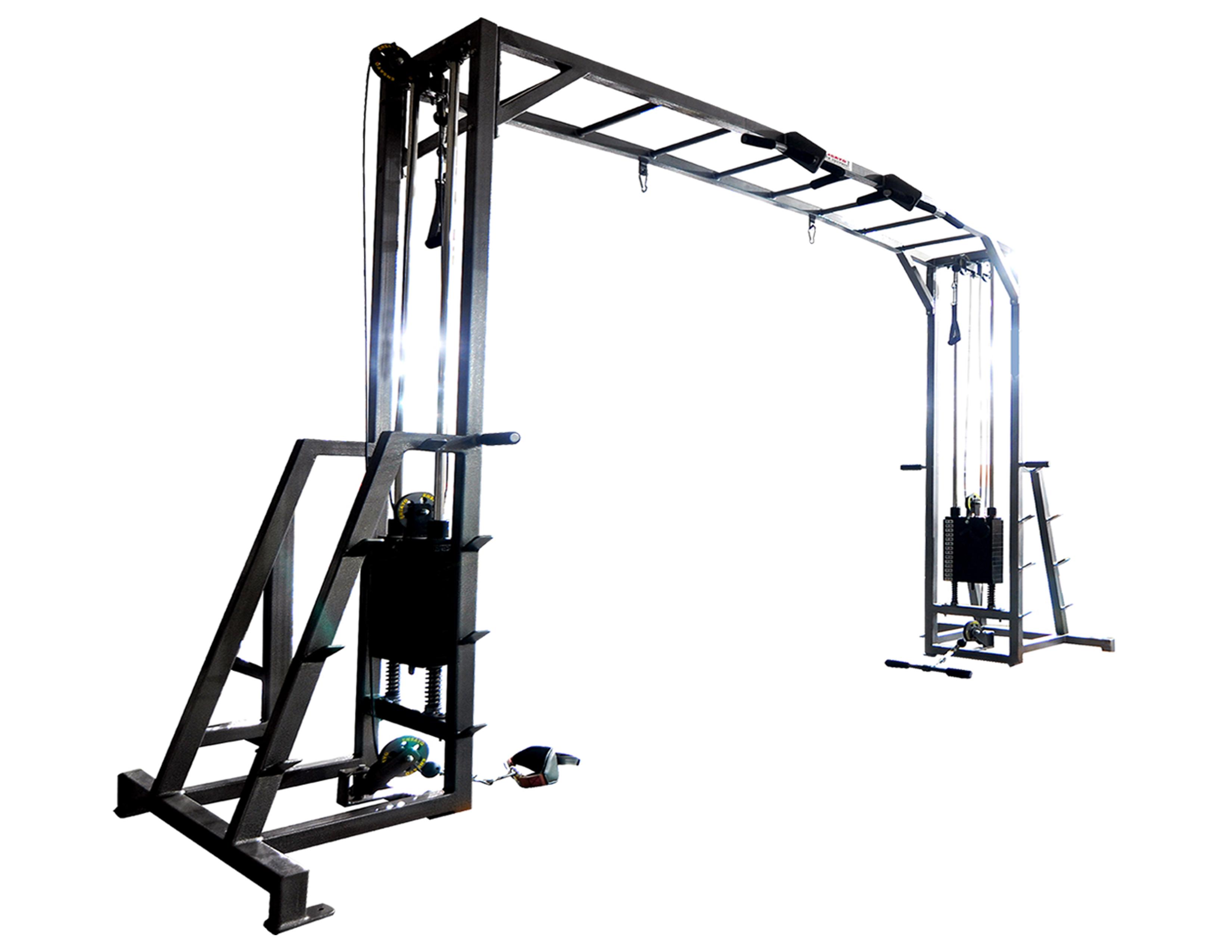 Cable Xover Machine 2x200lbs B Ensayo Gym Equipment Inc