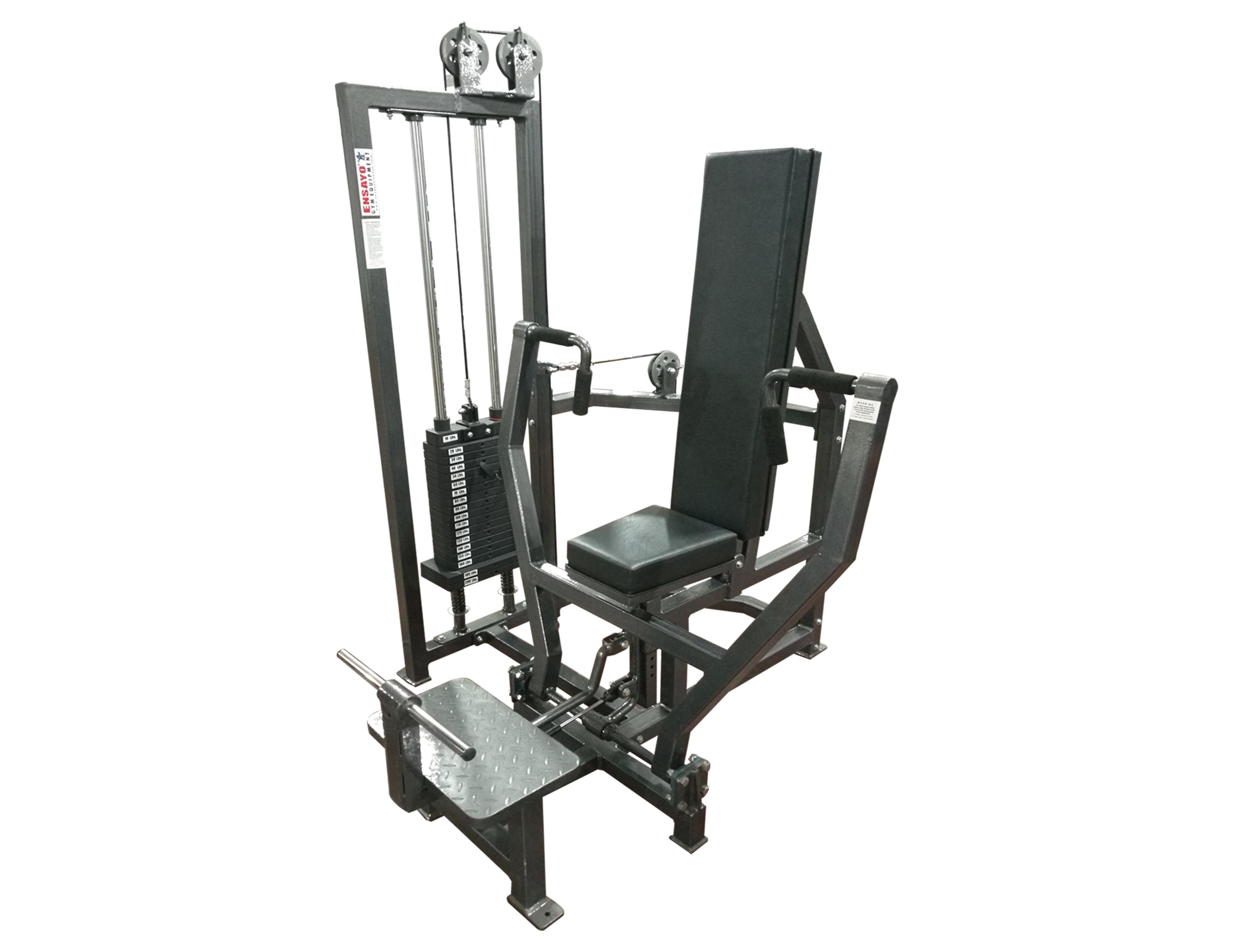 Chest Press Machine 200lbs B Ensayo Gym Equipment Inc