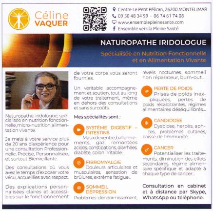 , Naturopathe - Iridologue à Montélimar