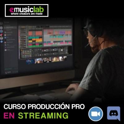 Curso de producción musical online