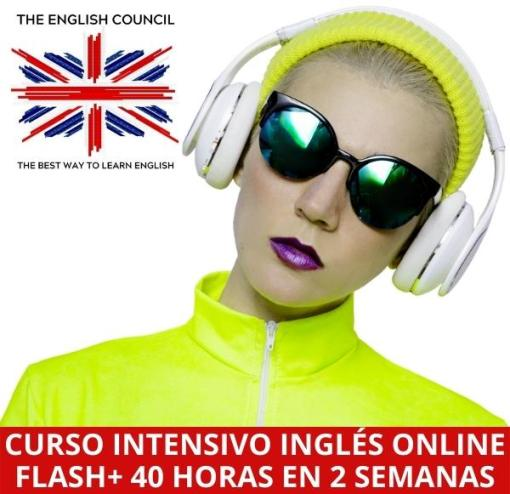 Curso intensivo inglés online 40 horas en 2 semanas