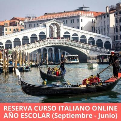 Reserva curso italiano online