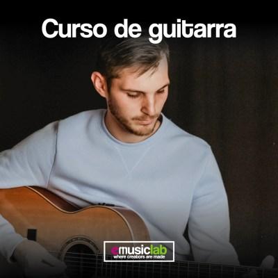 Curso de guitarra presencial