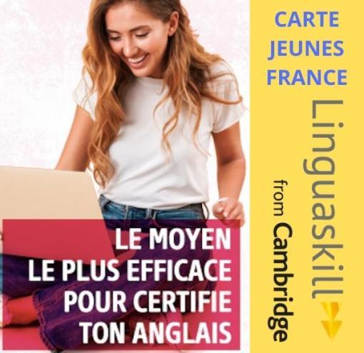 Carte Jeunes France Linguaskill
