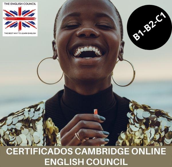 Certificados Cambridge B1 B2 C1 con el English Council