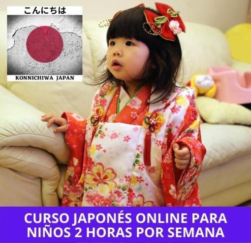 Clases de japonés online para niños