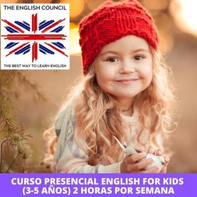 Clases de inglés presenciales para niños en Zaragoza