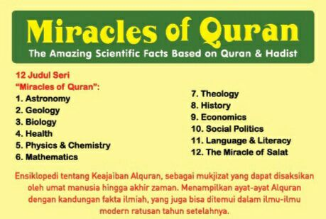 Miracle of Al-Qur'an