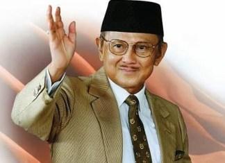 BJ Habibie meninggal