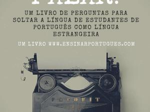 Livro de português para estrangeiros focadas na oralidade. Perguntas de diversos tópicos para estimular os estudantes. Inclui material para aulas online!