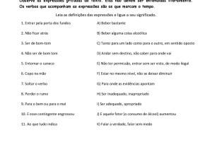 A partir de uma notícia sobre o aumento do consumo de álcool por mulheres os estudantes aprendem expressões populares em português.