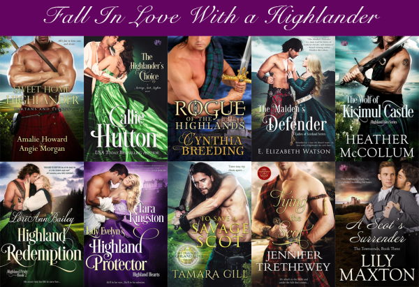 Fall in Love with a highlander sale graphic
