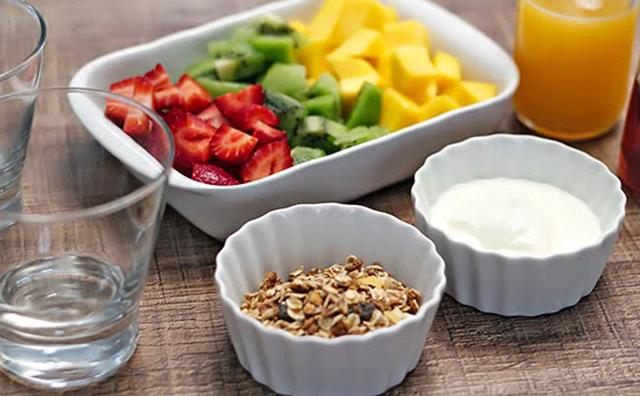 ingredientes salada frutas