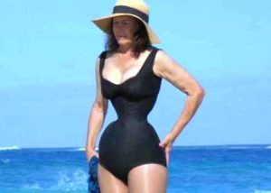 Esta mujer lleva 35 años reduciendo su cintura de 71 a 38 cm ...