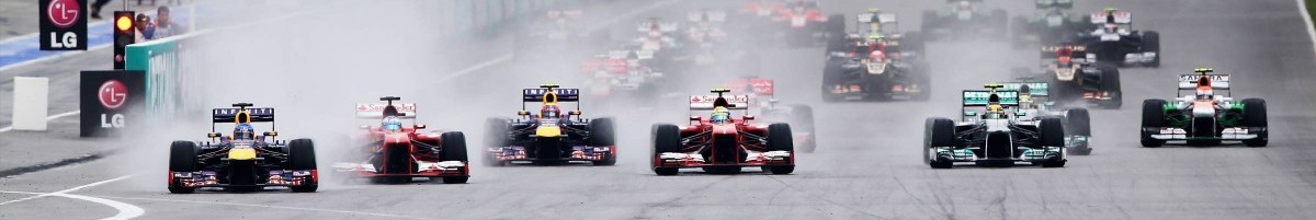 Malaysia Grand Prix race start