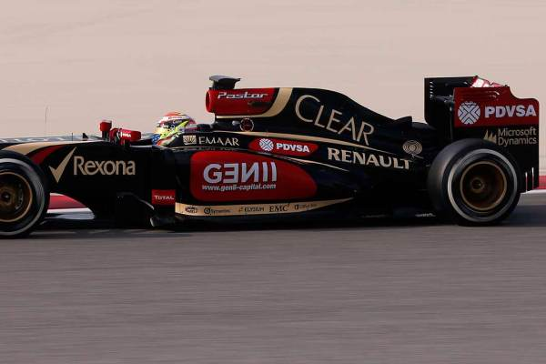 Pastor Maldonado - Lotus F1 Team
