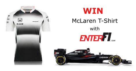 McLaren Honda t-shirt competition
