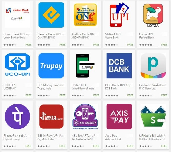 UPI Andorid Apps के Features और Functions के बारे में जानें