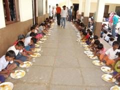 Aadhaar Card & midday meal scheme