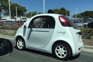 Google self-driving mini car