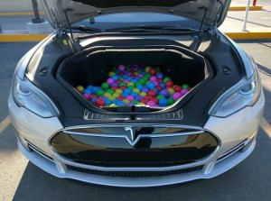 Tesla frunk
