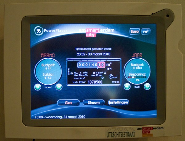 Power management display