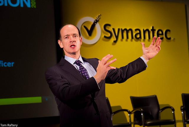 Enrique Salem, Symantec CEO, at Symantec Vision 2010